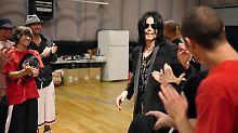 Michael Jackson am 6. Mai bei seinen Proben für das geplante Konzert in London.