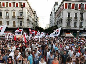 Proteste in Athen: Griechenland wird zur Schicksalsfrage für Europa