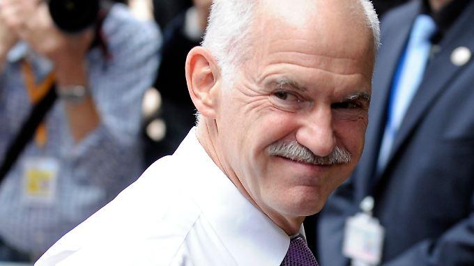 Kann er zufrieden sein? Griechenlands Ministerpräsident Papandreou.