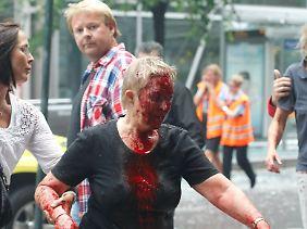 Mit derart verheerenden Anschlägen war Norwegen noch nicht konfrontiert.