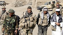 Nato soll afghanische Soldaten künftig wieder stärker unterstützen.