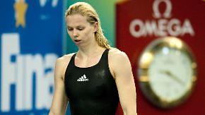 Schwimm-WM in Shanghai: Britta Steffen sagt alle Starts ab