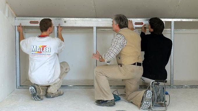 Nicht jeder Dachboden eignet sich zumAusbau: Teilweise fehlt es an genügend Fläche mit ausreichender Höhe.