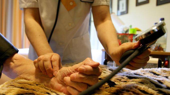 Pflege, das ist ein anspruchsvoller Beruf, nicht nur irgendein Job.