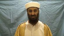 Bin Laden in einem in Abbottabad aufgenommenen Video.