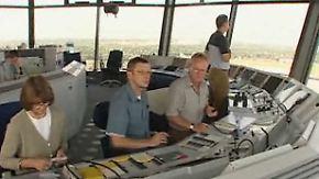 Reisechaos bleibt vorerst aus: Gericht untersagt Fluglotsen-Streik