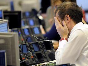 Die Börsianer sind verzweifelt.