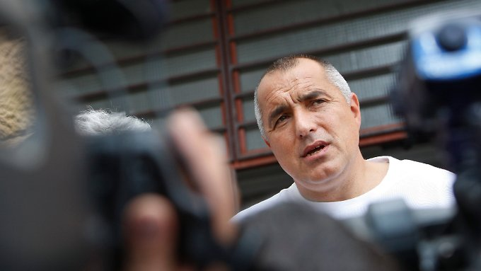 Bojko Borissow gewinnt mit GERB die Wahl - und will auch Regierungschef werden.
