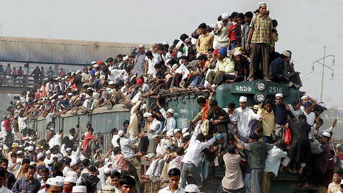 Pro Minute 158 Menschen mehr: Weltbevölkerung wächst und wächst