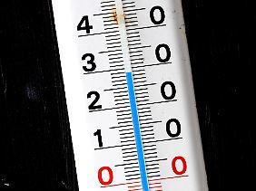 Temperatur nach oben: im Süden mehr als im Rest des Landes.