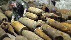 Explosives Weltkriegserbe: Blindgänger immer gefährlicher