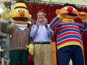 Auch Christian Wulff kennt Ernie und Bert seit Jahren.