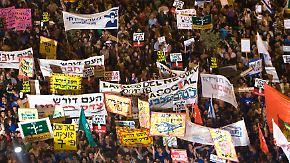"""""""Es könnte aggressiver werden"""": Sozialproteste in Israel gehen weiter"""
