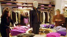 Ein Zara-Laden in Madrid.