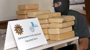 100 Kilo Kokain beschlagnahmt: Polizei sprengt Dealer-Ring