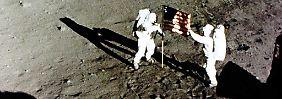 Lieber nicht bei erster Mond-Crew: Aldrin verflucht historischen Job