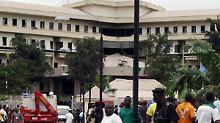 Das Gebäude der Vereinten Nationen in Abuja.