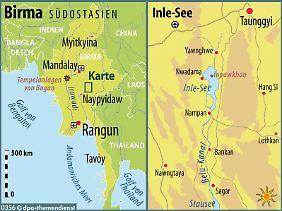 Weit weg von Rangun und Mandalay: Der Inle-See in Birma lohnt einen Abstecher von den gewohnten Reiserouten durch das Land.