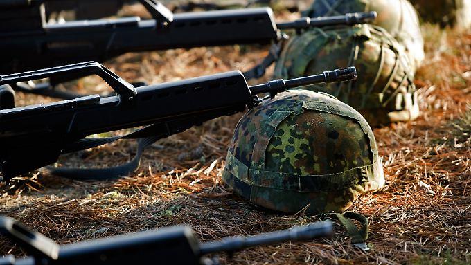 G36-Sturmgewehre bei der Bundeswehr.
