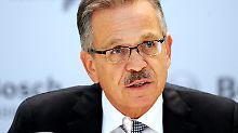 """""""Gemeinsam europäisch handeln kann nur, wer einen Teil seiner staatlichen Souveränität aufgibt"""": Franz Fehrenbach."""