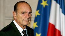 Der französische Ex-Präsident Jacques Chirac im Jahr 2006.