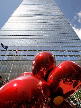 Das 7 WTC steht schon seit 2006. Hier arbeitet und regiert Silverstein.