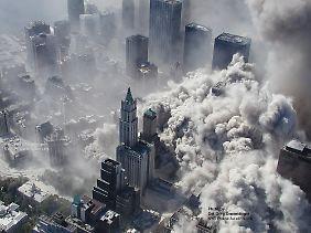 Beim Einsturz der Zwillingstürme wurden auch alle anderen Gebäude des World Trade Center zerstört.