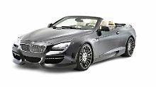 Hamann nimmt sich das BMW 6er Cabrio vor.