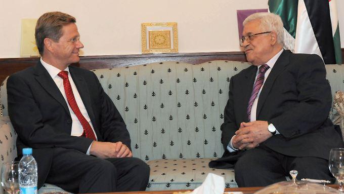 Westerwelle rät Abbas von einem Alleingang ab.