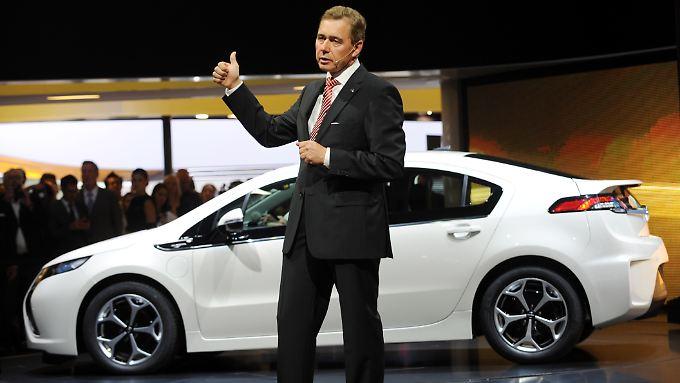 Ab November im Handel: Ampera soll Opels Zukunft richten
