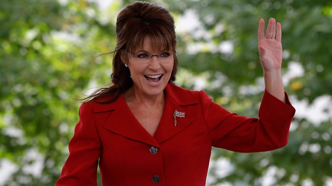 Palin bleibt im Gespräch.