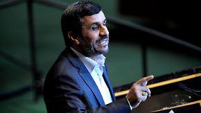 Provokation vor der UN-Vollversammlung: Ahmadinedschad sorgt wieder für Eklat