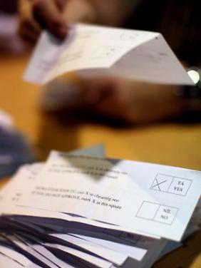 Volksabstimmungen zu Europa gibt es in kaum einem europäischen Land. Irland ist eine Ausnahme.