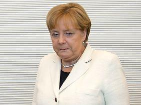 Die Kanzlerin braucht die Regierungsmehrheit für ihr politisches Überleben.