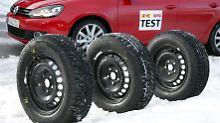 Bei einem Test der GTÜ konnten runderneuerte Winterreifen nicht überzeugen.