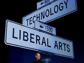 Visionen realisieren: Jobs bei der Vorstellung des Ipad 2.