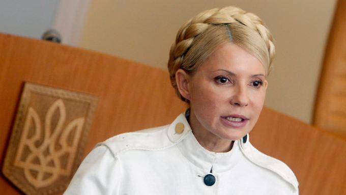 Timoschenko gab sich bei der Urteilsverkündung kämpferisch.