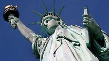 Weltberühmtes Wahrzeichen: Die New Yorker Freiheitsstatue