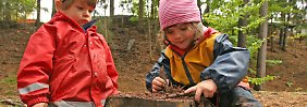 Kinder gehören in die Natur.
