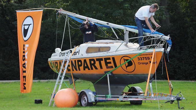 Die Piraten schwimmen im Moment auf einer Erfolgswelle.