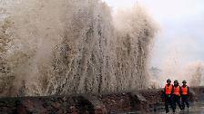 Angst und Begeisterung: Gigantische Wellen