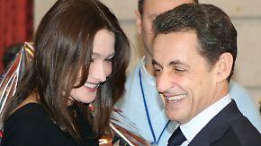 Das Kind hat einen Namen: Baby Sarkozy heißt Giulia