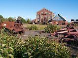 Was aus den Boomtagen übrigblieb: Die Reste der Quincy Mine stehen heute unter Denkmalschutz.