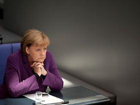 Merkel befürwortet einen kräftigen Schuldenschnitt.