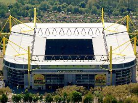 """Für die """"Times"""" bleibt der Dortmunder Fußballtempel auf ewig das Westfalenstadion."""