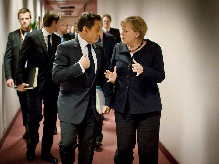 Es gibt noch immer viel Gesprächsbedarf, nicht nur zwischen Sarkozy und Merkel.