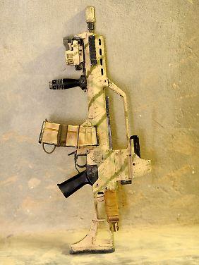 608 Gewehre vom Typ G36 sollen in Libyen aufgetaucht sein.