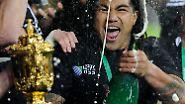 """Neuseeland ist im WM-Gold-Rausch: """"All Blacks"""" regieren die Rugby-Welt"""