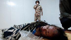 Ein Tod, verschiedene Versionen: Gaddafi-Tod bleibt rätselhaft