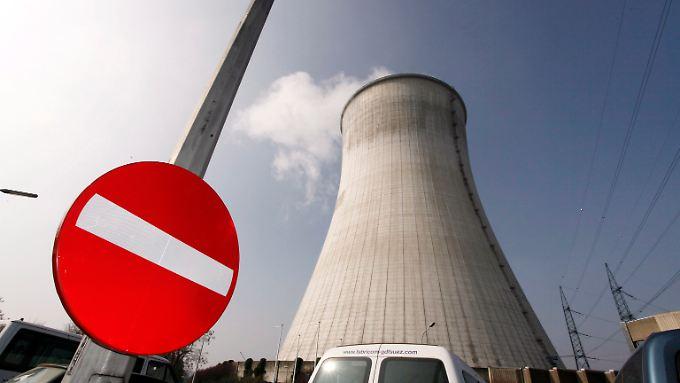 Das Atomkraftwerk Tihange in Belgien.